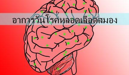 อาการ วันโรคหลอดเลือดสมอง