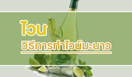 ไวน์ วิธีการทำไวน์มะนาว