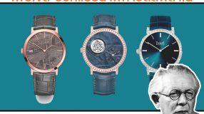 เพียเจต์ ออกแบบนาฬิกาอัลติพลาโน